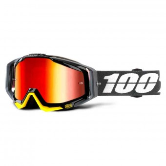 Gafas motocross 100% Racecraft Fortis Mirror Red