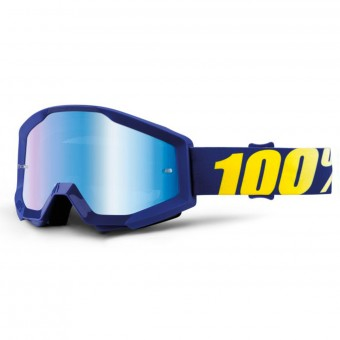Gafas motocross 100% Strata Hope Mirror Blue Lens