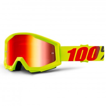 Gafas motocross 100% Strata Mercury Mirror Red Lens
