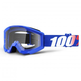 Gafas motocross 100% Strata Nation Clear lens Niño