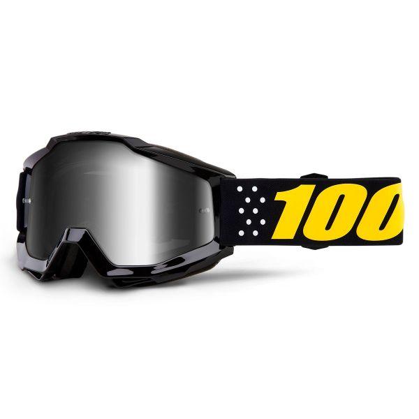 Gafas motocross 100% Accuri Pistol Mirror Silver Lens