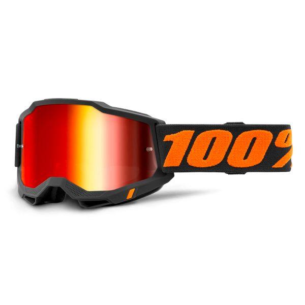 Gafas motocross 100% Accuri 2 Chicago - Iridium Rojo