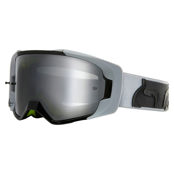 Gafas motocross FOX Vue Dusc Light Grey Chrome Mirror Lens