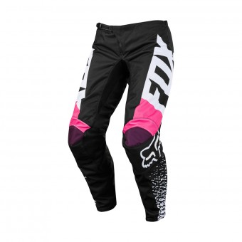 Pantalón motocross FOX 180 Girls Black Pink Pant 285