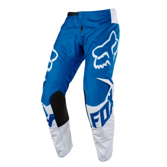 Pantalón motocross FOX 180 Race Blue White Pant Niño 002
