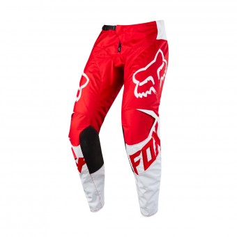 Pantalón motocross FOX 180 Race Red White Pant 002