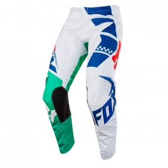 Pantalón motocross FOX 180 Sayak Green Pant Niño 004