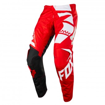 Pantalón motocross FOX 180 Sayak Red Pant Niño 003