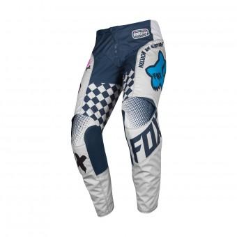 Pantalón motocross FOX 180 Czar Gris Pant Niño