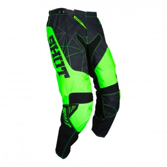 Pantalón motocross SHOT Contact Infinite Neon Green Pant
