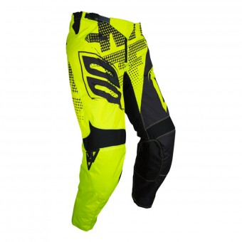 Pantalón motocross SHOT Contact Venom Neon Yellow Pant