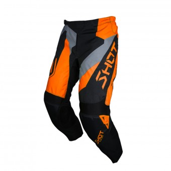 Pantalón motocross SHOT Devo Alert Neon Orange Pant