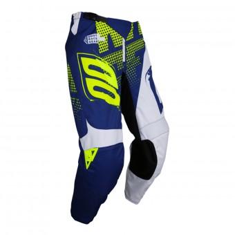 Pantalón motocross SHOT Devo Venom Blue Neon Yellow Pant Niño