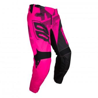 Pantalón motocross SHOT Devo Venom Neon Pink Pant Niño