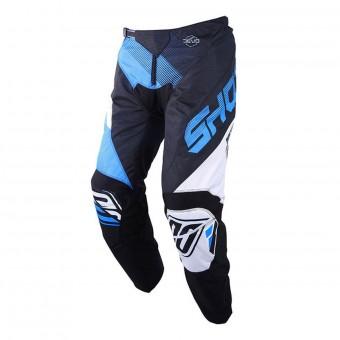 Pantalón motocross SHOT Devo Ultimate Negro Cian Pant Niño