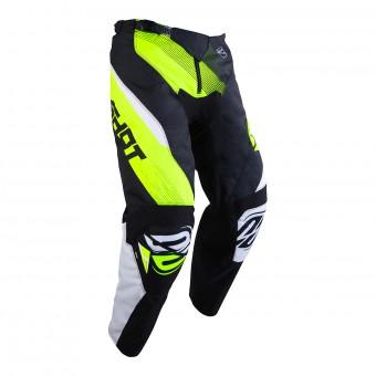 Pantalón motocross SHOT Devo Ultimate Negro Neon Amarillo Pant Niño
