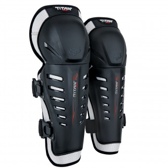 Rodilleras Motocross FOX Titan Race Knee Black