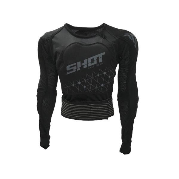 Peto motocross SHOT Airlight Evo Grey Black