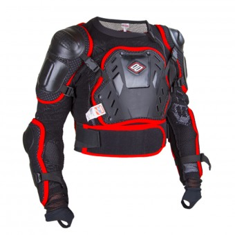 Peto motocross SHOT Optimal Black Red