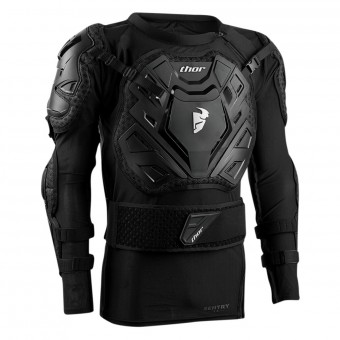 Peto motocross Thor Sentry XP Black