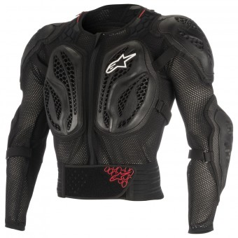 Peto motocross Alpinestars Youth Bionic Action Black Red