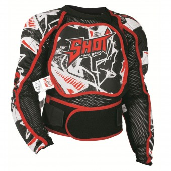 Peto motocross SHOT Airlight Blanco Niño