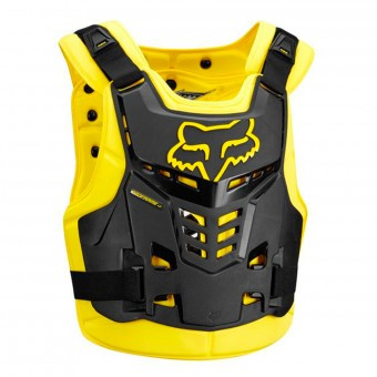 Peto motocross FOX Proframe LC Roost Deflector CE Black Yellow