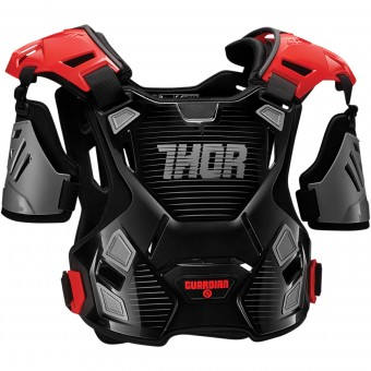 Peto motocross Thor Guardian Black Red