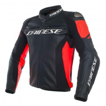 Cazadora moto Dainese Racing 3 Perforated Black Red