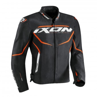 Cazadora moto Ixon Sprinter Black Orange