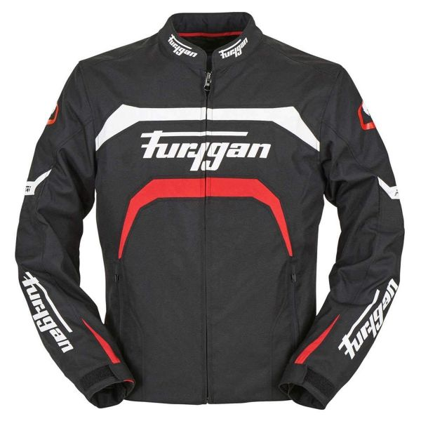 Cazadora moto Furygan Arrow Black White Red