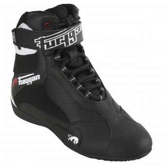 Deportivas Moto Furygan Fast Air D3O Black White