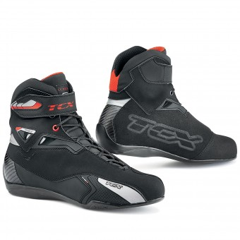 Deportivas Moto TCX Rush Waterproof Black