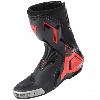 Botas Moto  Dainese Torque Out D1 Black Red Fluo
