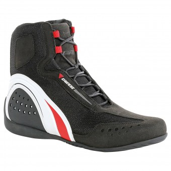 Calzado Moto Dainese Motorshoe Air Black White Red