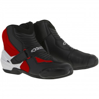 Botines Alpinestars SMX-1 R Black White Red