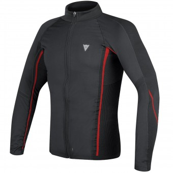 Camiseta térmica Dainese D-Core No-Wind Thermo Tee Black Red