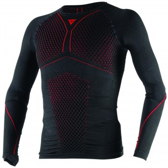 Camiseta térmica Dainese D-Core Thermo Tee LS Black