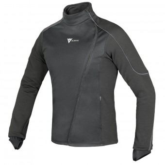 Camiseta térmica Dainese D-Mantle Fleece WS Black