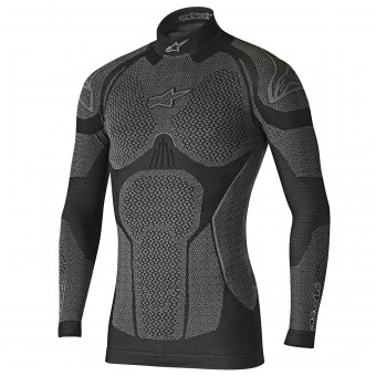 Camiseta térmica Alpinestars Ride Tech Top LS Winter Black Grey