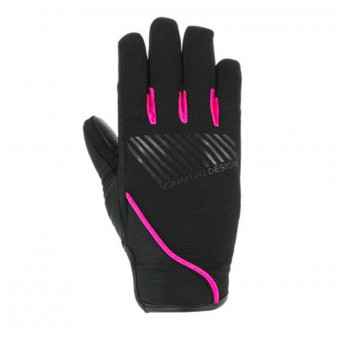 Guantes moto V'Quattro Section 17 Lady Black