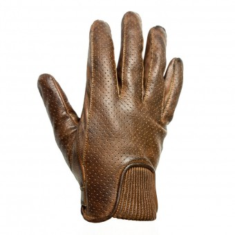 Guantes moto Helstons Charly Perfore Camel Negro
