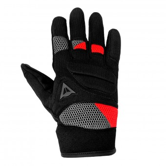 Guantes moto Dainese Fogal Unisex Black Red