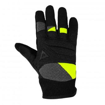 Guantes moto Dainese Fogal Unisex Black Yellow Fluo