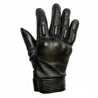 Guantes moto Helstons Side Mujer Negro Blanco