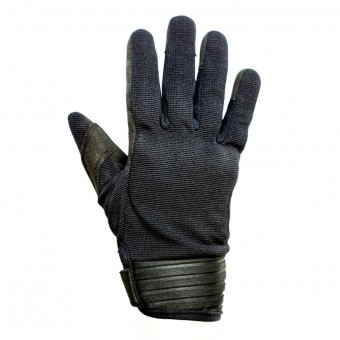 Guantes moto Helstons Simple Mujer Negro