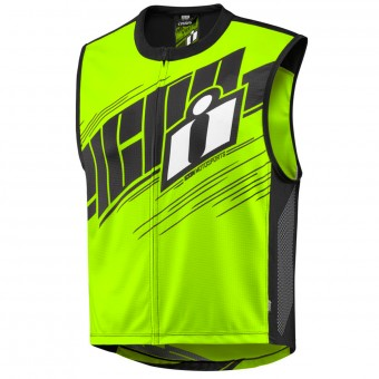 Chaleco moto ICON Mil-Spec 2 Vest Hi-Viz Yellow