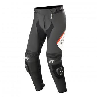 Pantalones moto Alpinestars Missile V2 Negro Blanco Rojo Fluo