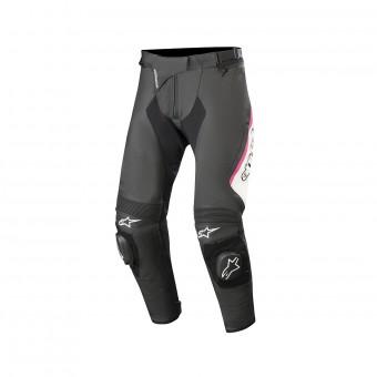 Pantalones moto Alpinestars Stella Missile V2 Negro Blanco Fucsia