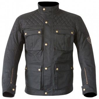 Cazadora moto Merlin Armitage Wax Black